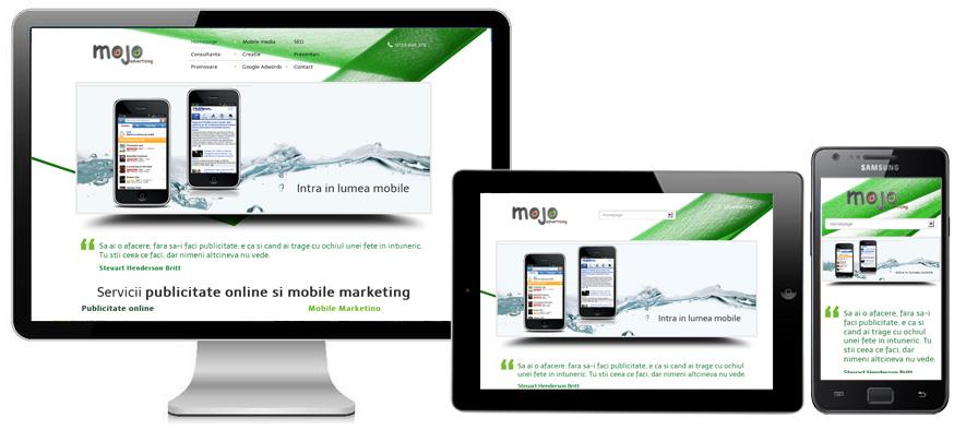 Creare site-uri web, realizare site-uri web